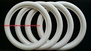 Genuine Atlas Classic Style 18and039and039 White Wall Portawall Tire Insert Trim Set Of4.