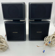 Vector Research Vrp-575 Satellite Array 2-way Stereo Speakers -tested And Working