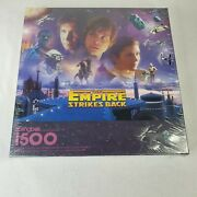 Star Wars The Empire Strikes Back Springbok 1500 Piece Puzzle New Sealed