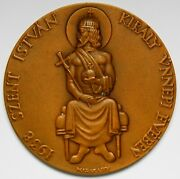 Hungary National Stamp Exhibition Bronze Medal 1938 Madarassy Walter Unc