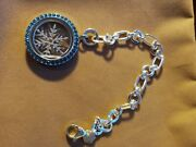 Origami Owl Sterling Bracelet With Added Snowflake