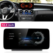 12.3 Android Car Gps Radio Player For Mercedes Benz C Glc V R Class 2015-2020
