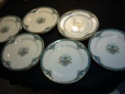 Lenox China Fountain 9 Salad Or Luncheon Plate Two Birds On Fountain Set Of 12