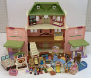 Fisher Price Loving Family Grand Mansion Dollhouse Lot W/ Accessories As-is Read