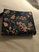 Excellent Cond British Airways First Class Liberty London Floral Amenity Bag