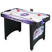 Air Hockey Table Electric Blower Playing Surface Airflow With Scoring System