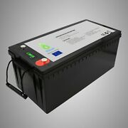 Lifepo4 Battery 24v 100ah With Bms Lithium Iron Phosphate Solar Power Bank Rv