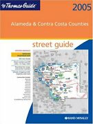 Thomas Guide 2005 Alameda And Contra Costa Counties Street By Rand Mcnally