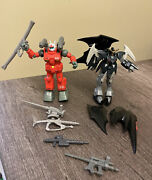Gundam Mobile Suit And Deathscythe Action Figures