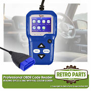 Professional Obd2 Colour Code Reader For Aston Martin. Diagnostic Tool Mil Dtcs