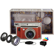 Lomo Instant Wide Camera And Lenses Central Park Edition - Instax Wide Film Use