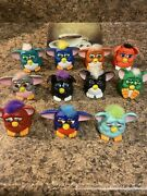Mcdonalds Furby 1998 Happy Meal Toys Furbies Tiger Electronics Lot Of 11