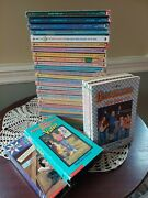 Vintage The Babysitters Club Book Lot 33 W/ Little Sisters, Mystery And 2 Vhs
