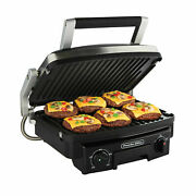 Proctor Silex Durable Grill/griddle 5 In 1 Versatility Reversible Plates 25340