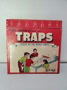 Rare Vintage Wood Toy Board Game Of Traps Golf Marble Table Top Seattle