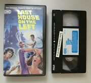 Last House On The Left Cic Canadian Clamshell Release Super Rare Htf Release
