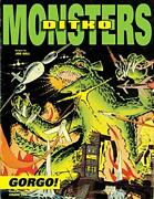 Ditkoand039s Monsters Gorgo Ditko Monsters By Joe Gill - Hardcover Brand New