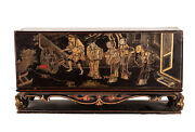 China 19. Jh Ein Antique Chinese Patent/wood Travel - Altar / Home Altar