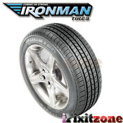 1 Ironman Rb-12 Rb12 Nws 225/70r15 100s White Wall All Season Performance Tires