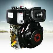 10hp Diesel Engine 4 Stroke 406cc Single Cylinder Machinery Recoil Starting