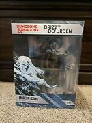 Drizzt Doand039urden Modern Icons Premium Statue 12 Dungeons And Dragons Nib - In Hand