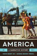 America A Narrative History And For Record Tenth By David E. Shi And George