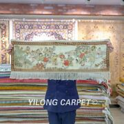 Yilong 3and039x1and039 500lines Kids Pattern Tapestry Home Decor Handmade Silk Rug Y091h