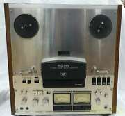 Sony Tc7650 Reel-to-reel Tape Recorders Power Supply Voltage 100v