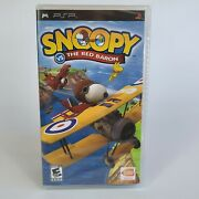 Snoopy Vs. The Red Baron Sony Psp 2006 New Sealed