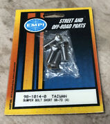 New Old Stock Empi Bumper Bolts X4 Short For 1968-1973 Part 98-1014-0.