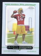2005 Topps Chrome Complete Set Football 1-275 Aaron Rodgers Rookie Frank Gore Rc