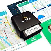 Premium No Monthly Fees Gps Tracker Obd 4g Lte Tracking Device For Cars