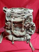 Us Military Issue Multicam Ocp Molle 4000 System Backpack W/frame