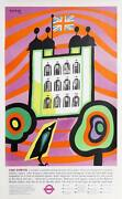 Hans Unger The Tower Lithograph Poster Mounted On Linen