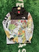 Supreme X The Expedition Atlas Map Jacket Size Small