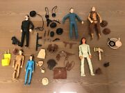 Lot Of Vintage Marx Figures And Accessories Johnny West