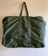Vintage Wwii Usn Us Navy Parachute Traveling First Aid Kit Pouch Bag.