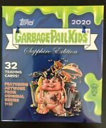2020 Topps Garbage Pail Kids Gpk Chrome Sapphire Sealed 8-pack Box In Hand