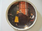 Norman Rockwell Plate Marriage License