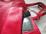 Nwt Ysl Yves Saint Laurent East West Reversible Tote Shoppe With Wallet