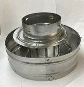 """Hart And Cooley Inc. 4rhw Part 051667 Type B Gas Vent - 3"""" To 12"""" Diameter"""