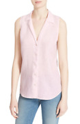 Nwt Equipment And039adalynand039 Linen Sleeveless M Picasso Pink