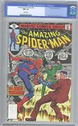 Amazing Spider-man 192 Cgc Nm 9.2 2nd App Of The Human Fly