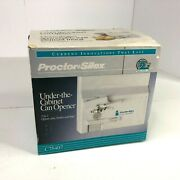 Proctor Silex Under The Cabinet Can Opener C75407 New Open Box 3 In 1