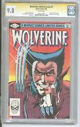 Wolverine Limited Series 1 Cgc 9.8 Ss Stan Lee 1982 🔥 Hot 🔥