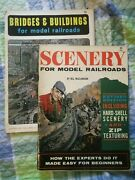 Lot Of 2 Vintage Model Railroad Books Scenery Bridges And Buildings Softcover