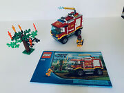 Lego City Fire Truck 4208 100 Complete With Manual