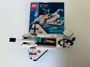 Lego 3367 City Space Shuttle, 100 Complete W Manual And Minifigures