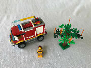 Lego City 4 X 4 Fire Truck 4208 Complete, No Instructions