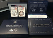 2019 Pride Of Two Nations Set Ngc Pf70 Early Release W/box And Coa = Us And Canada